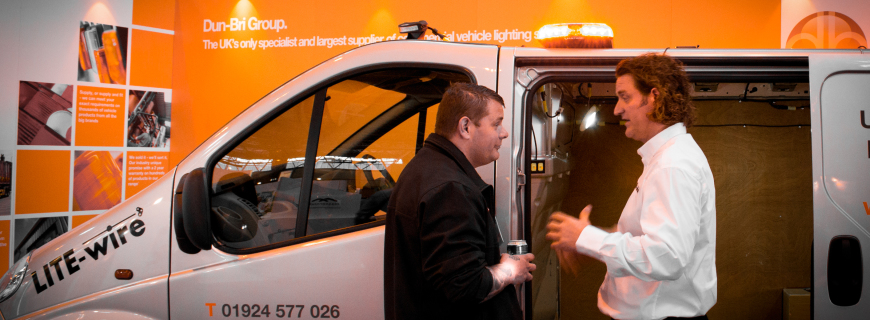 Dun-Bri Group get the show on the road at the CV Show 2014