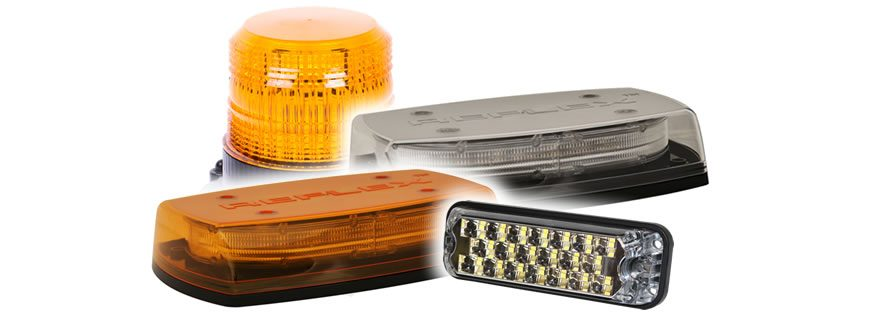 Familiar faces, with enhanced performance – try the range of LED warning from ECCO
