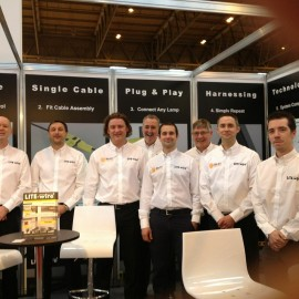 2012 - Dun-Bri Group attend their first ever CV Show at the NEC in Birmingham