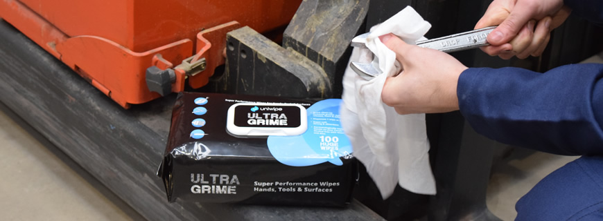 Wipe away the competition with Uniwipe's Ultragrime cleaning wipes…