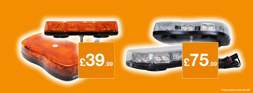 LAP 1220 Series LED Mini Lightbars: Amber or clear lens – that is the question?