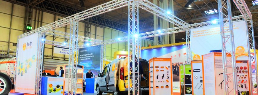Dun-Bri Group celebrate their recent success at the CV Show 2018