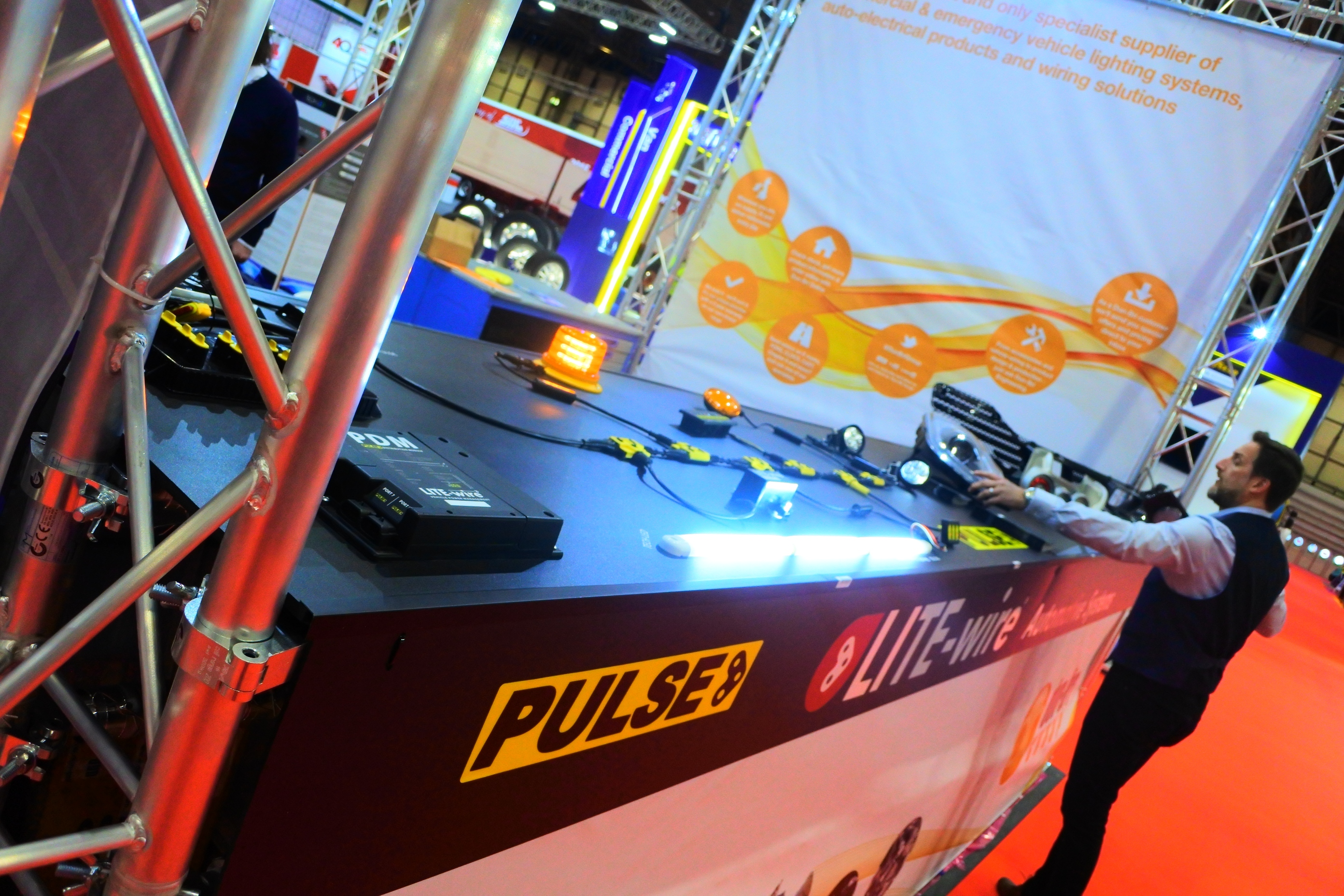 Dun Bri Group Celebrate Their Recent Success At The Cv Show 2018 Wiring Emergency Vehicle Lights