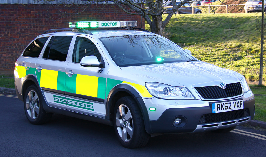 Doctor's response car on the Isle of Wight (stock photo)
