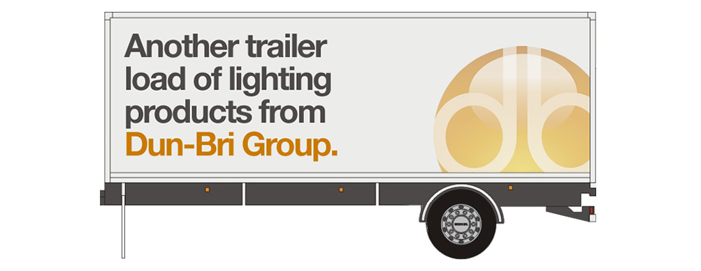 Dun-Bri Group fleet livery trailer