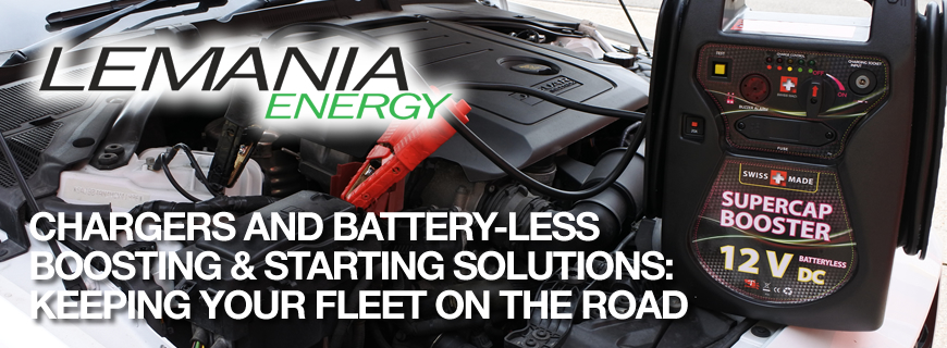 Lemania Energy: Battery chargers & battery-less starting solutions