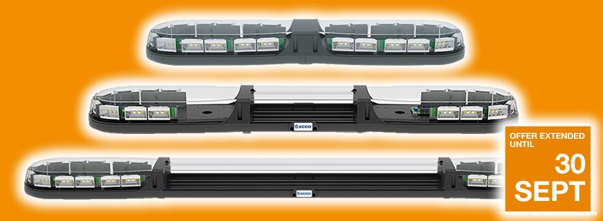 ECCO 13 Series Lightbars: Special offer extended for September!