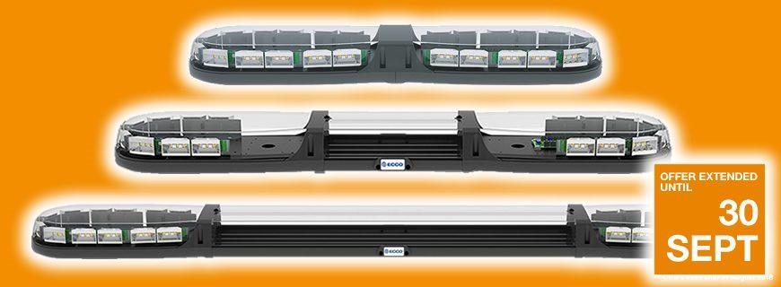 ECCO 13 Series Lightbars: Special offer extended for September!