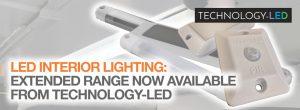 LED interior lighting: Extended Technology-LED range now available